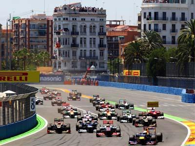 Formula One, Valencia Street Circuit