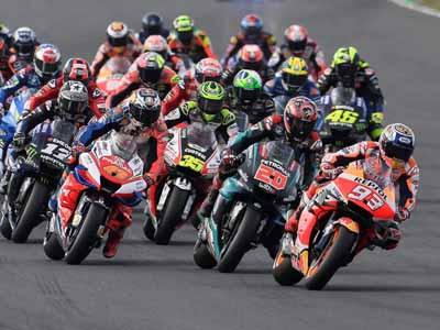 Moto GrandPrix Race