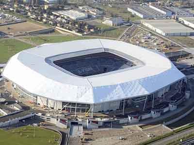 Groupama, Lyon's Stadium