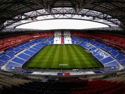 Groupama Stadium inside