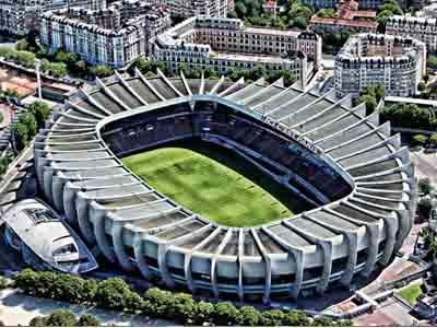 Le Parc des Princes, PSG Stadium