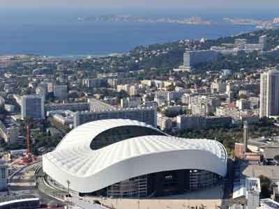 Orange Vélodrome, Marseille Stadium
