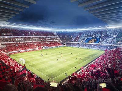 San Siro match stadium
