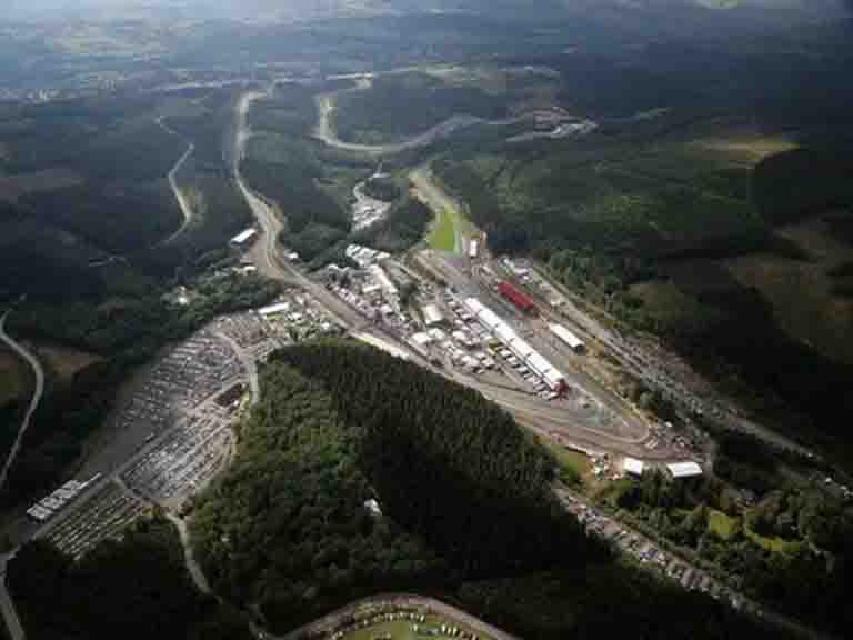 Spafrancorchamps Circuit Overview