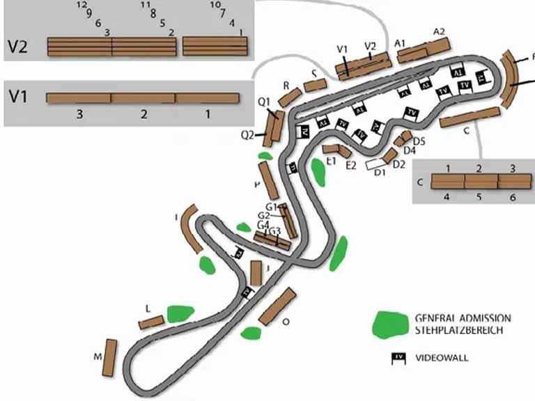 Suzuka Circuit Map