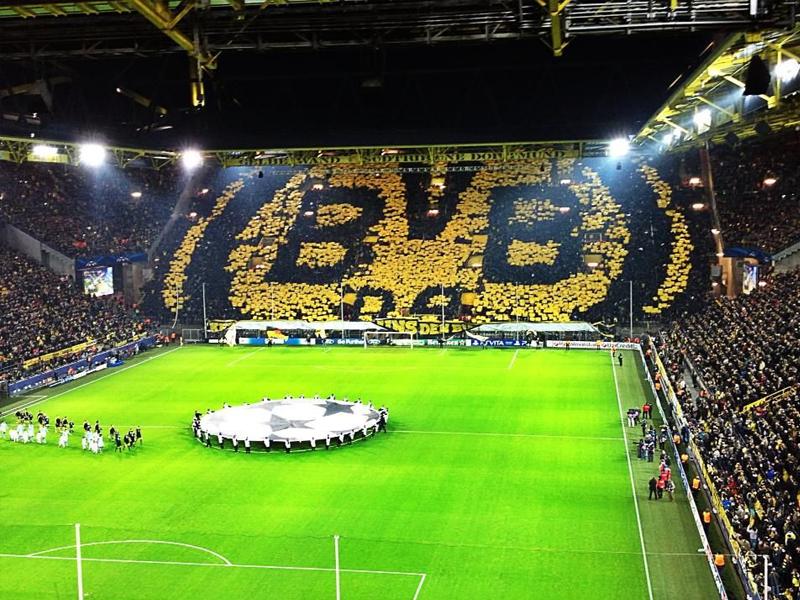 dortmund stadium supporters